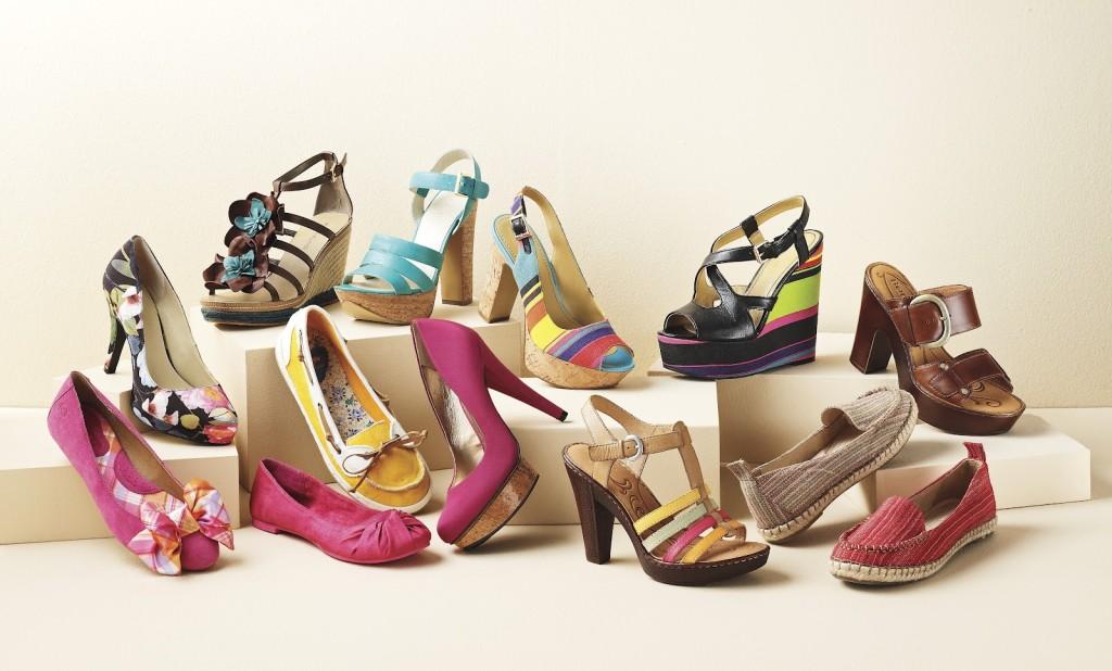 Летнюю женскую обувь в рф недорого