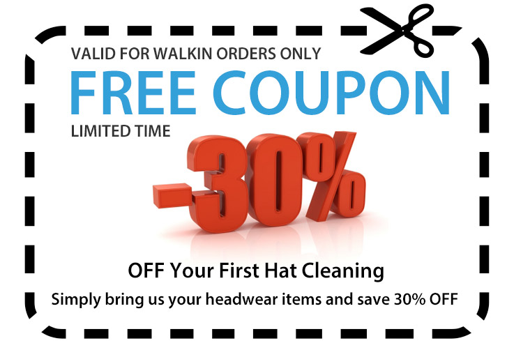 Top hat cleaners coupons