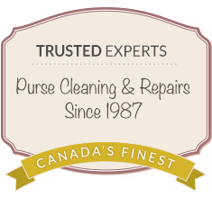 purse cleaning and repairs