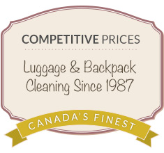 luggage cleaning coupon