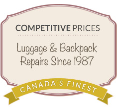luggage repair coupon