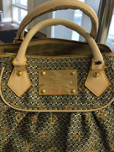 LV handbag repair oakville