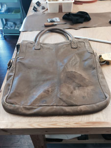 complete bag restoration before