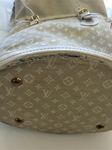 louis vuitton purse repair before