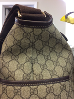 Gucci purse repair Toronto - After