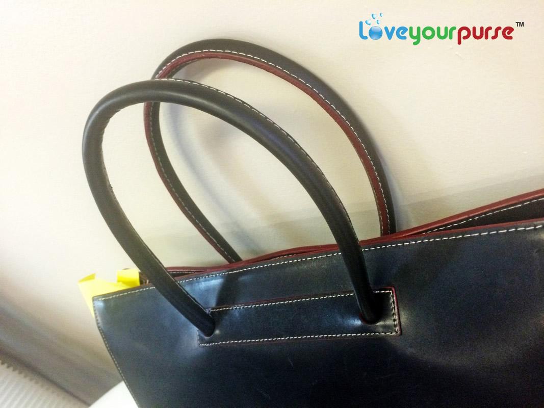 Leather jacket repair toronto - Handbag Handle Repair After