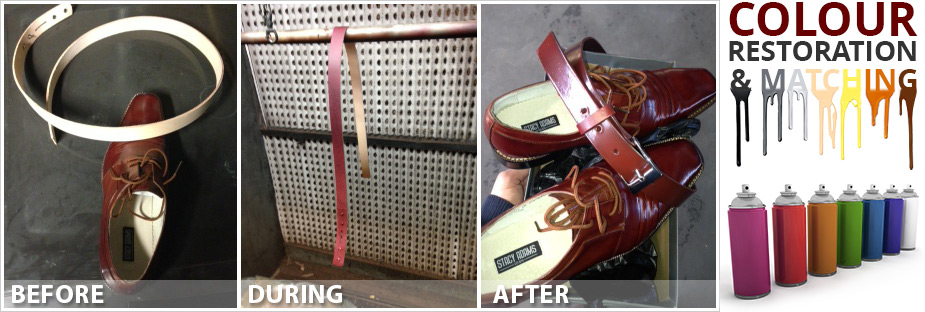 Shoe Cleaning and Belt Colour Match
