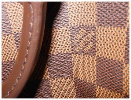 designer handbag material close-up