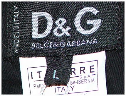 dolce gabana handbag wrong spelling