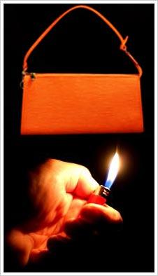 purse leather test